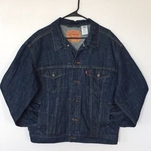 Levi's Trucker Style Blue Denim Jacket (L)